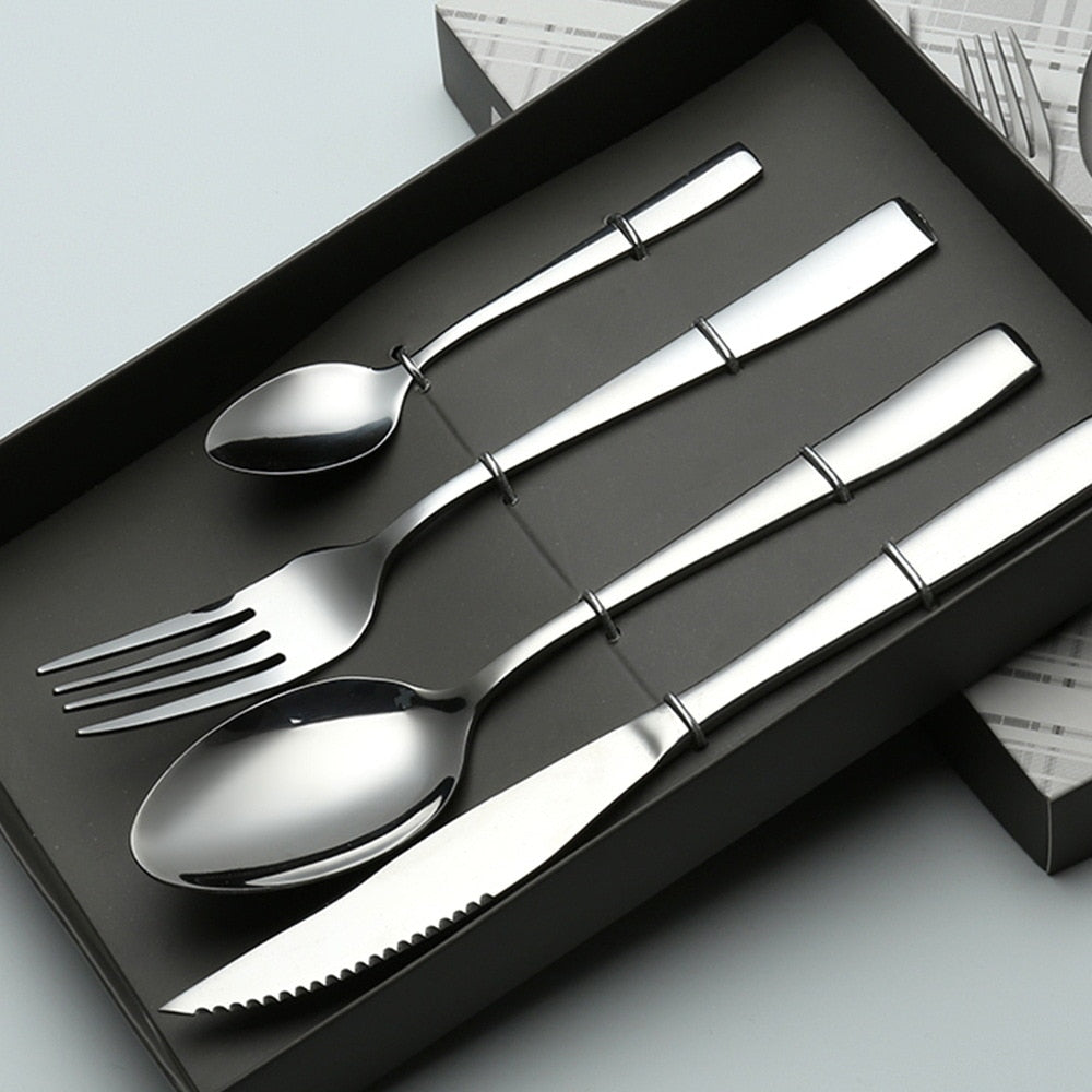 Stainless Steel high-end Western 4pcs/set - Food Stylists Corner