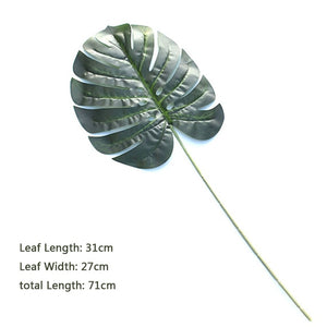 Tropical Plastic Leaves props - Food Stylists Corner