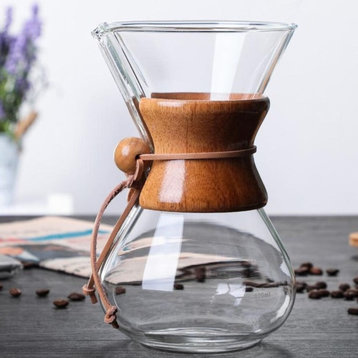Decanter Coffeemaker and Filter - Food Stylists Corner