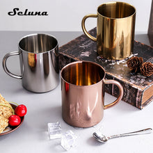 Load image into Gallery viewer, Stainless Steel Coffee Mugs - Food Stylists Corner