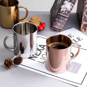 Stainless Steel Coffee Mugs - Food Stylists Corner
