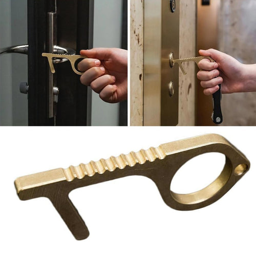 Antimicrobial Brass Door Opener & Stylus - Food Stylists Corner