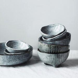 Unique Ceramic Design Small Bowls - Food Stylists Corner