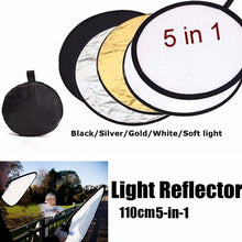 "Load image into Gallery viewer, 5 in 1  43"" Folding Reflector - Food Stylists Corner"