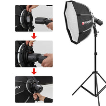 "Load image into Gallery viewer, 25"" Portable Speedlite Octabox - Food Stylists Corner"