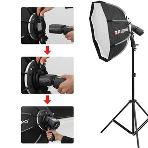 "25"" Portable Speedlite Octabox - Food Stylists Corner"