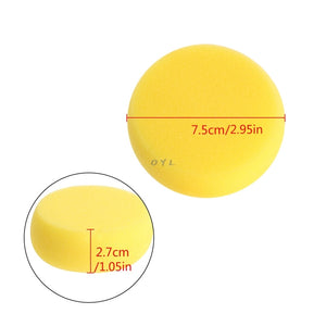 1pc High Quality  Round Painting Sponge For Art Drawing Craft Clay Pottery Sculpture Cleaning Tool - Food Stylists Corner