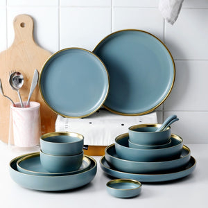 European Style Ceramic Dinnerware Set - Food Stylists Corner