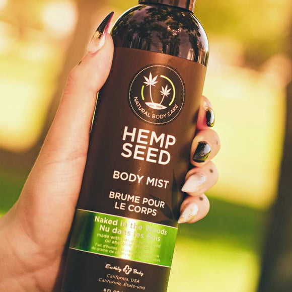 Hemp Seed Body Mist 8oz ~ Assorted Fragrances