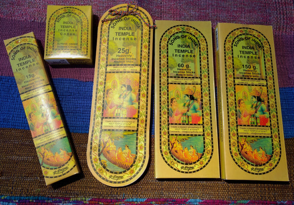 India Temple Incense ~ Assorted Sizes