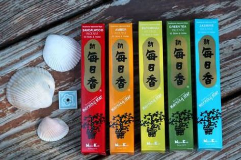 Morning Star Incense 50gr ~ Assorted Scents