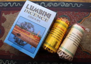 Lumbini Rope Incense Box ~ 2 in 1