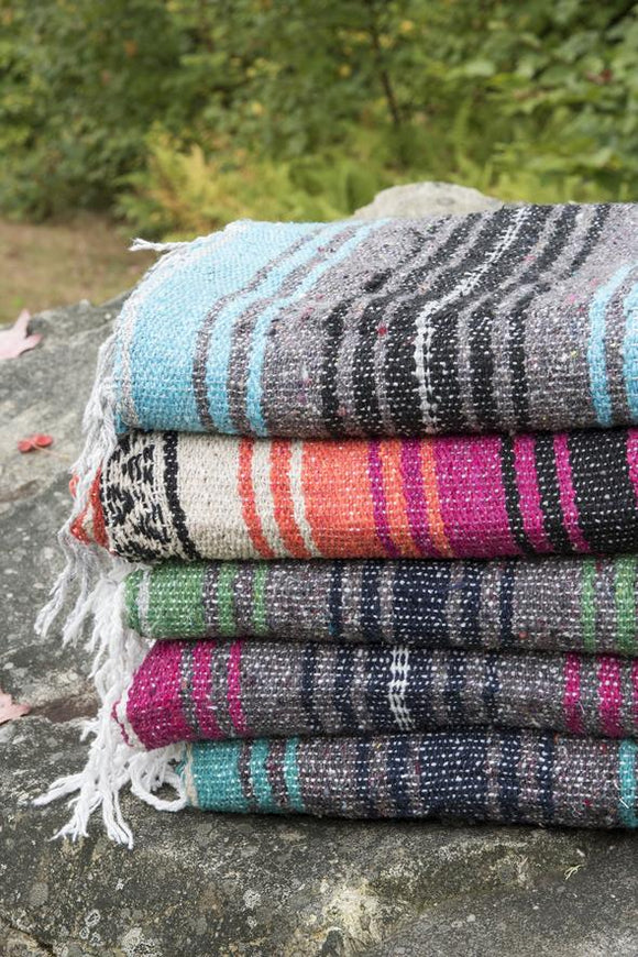 Mexican Falsa Blanket ~ Assorted Colors