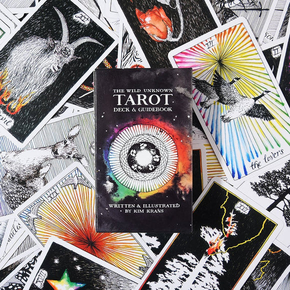The Wild Unknown Tarot Deck ~ By Kim Krans
