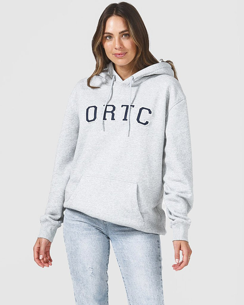 ORTC College Fleece Hoodie - Marle Grey