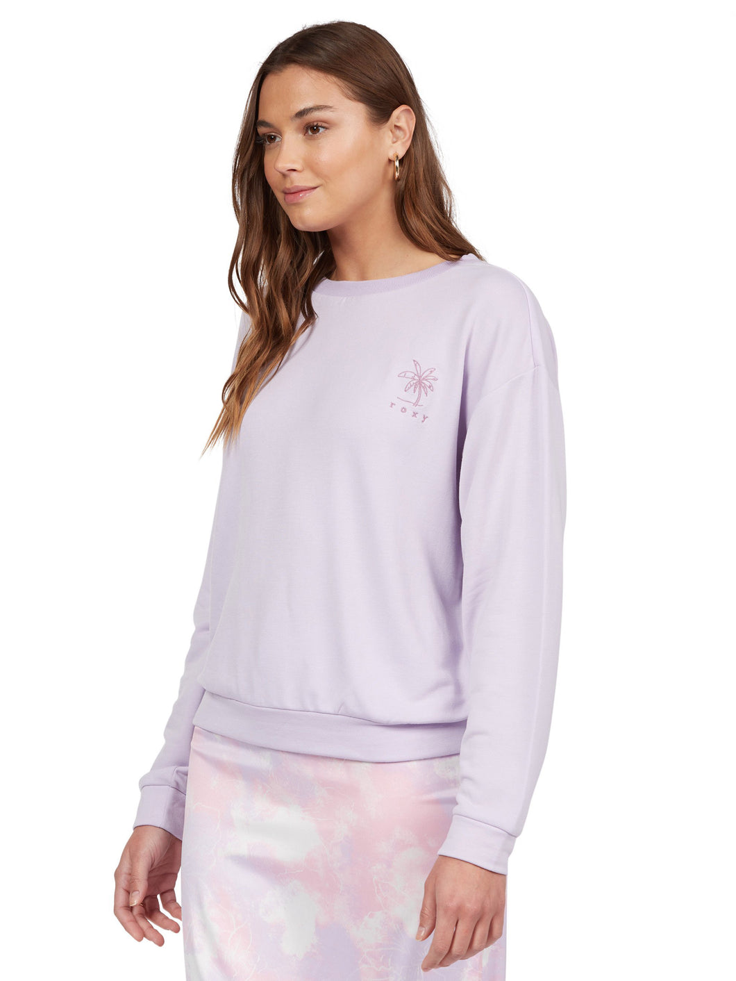 Roxy Surfing By Moonlight Super Soft Fleece - Orchid Petal