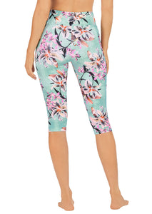 Abi & Joseph Winter Botanics Dual Pocket 3/4 Tight