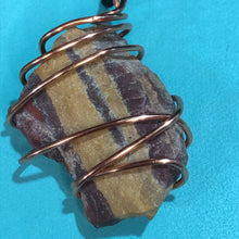 Load image into Gallery viewer, Rock and Copper Pendant