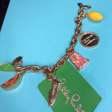 Load image into Gallery viewer, Lilly Pulitzer Charm Bracelet