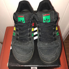 Load image into Gallery viewer, Adidas Black Hemp Sneakers - Men 10.5