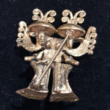 Load image into Gallery viewer, Alva Studios Aztec God Museum Reproduction Brooch
