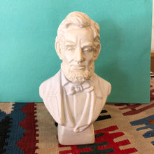 Load image into Gallery viewer, Vintage Avon President Lincoln Bust After Shave Bottle
