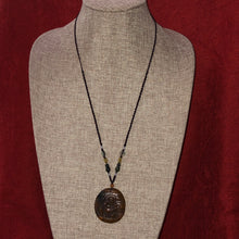 Load image into Gallery viewer, Adjustable Brown Jade Buddha Pendant