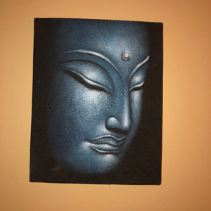 Two Pieces of Buddha Wall Art