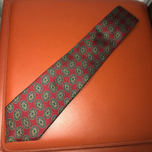 Load image into Gallery viewer, Burberry Burgundy Silk Tie