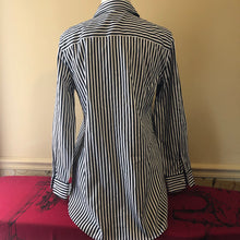 Load image into Gallery viewer, Chico's Sateen Stripe Women's Shirt - .5