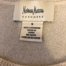 Load image into Gallery viewer, Neiman Marcus Cream Colored Cashmere Sweater - Small