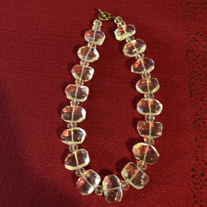 Clear Quartz Statement Necklace