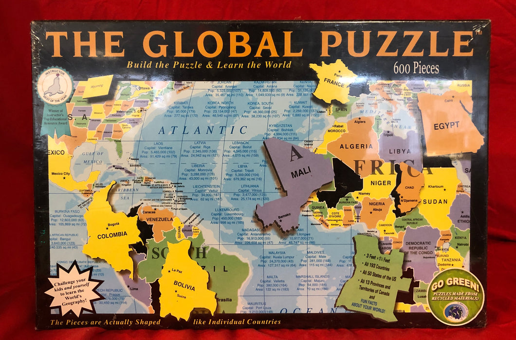The Global Puzzle - 600 piece puzzle