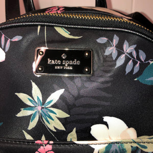 Kate Spade Nylon Botanical Floral Small Backpack