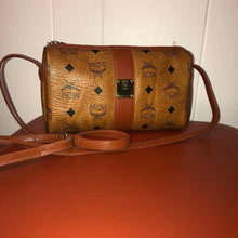 Load image into Gallery viewer, MCM Vintage Cognac Leather Small Crossbody Bag