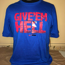 "Load image into Gallery viewer, Nike ""Give Em Hell"" T-shirt - Large"