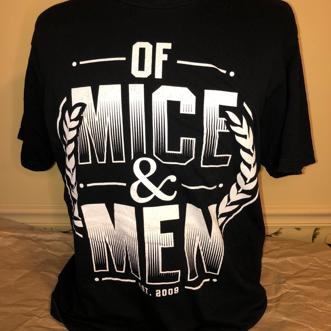Of Mice & Men 2009 T-shirt - X-Large