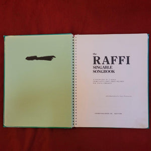 The Raffi Singable Songbook