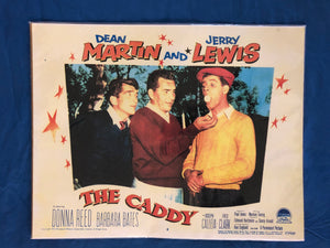 Movie Poster : The Caddy (1953) with Dean Martin and Jerry Lewis