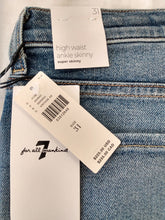"Load image into Gallery viewer, 7 For All Mankind ""Luke Vintage"" Jeans - NEW - size 31"