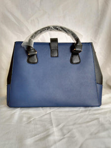 Besto V Blue & Black Purse - NEW