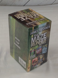 The Maze Runner Series Complete Collection Boxed Set - NEW