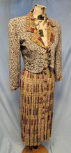 Load image into Gallery viewer, Vintage 2 Piece Skirt Suit - Platinum by Dorothy Schoelen - Petite