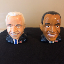 Load image into Gallery viewer, Presidents Obama and Biden Ceramic Shaker set