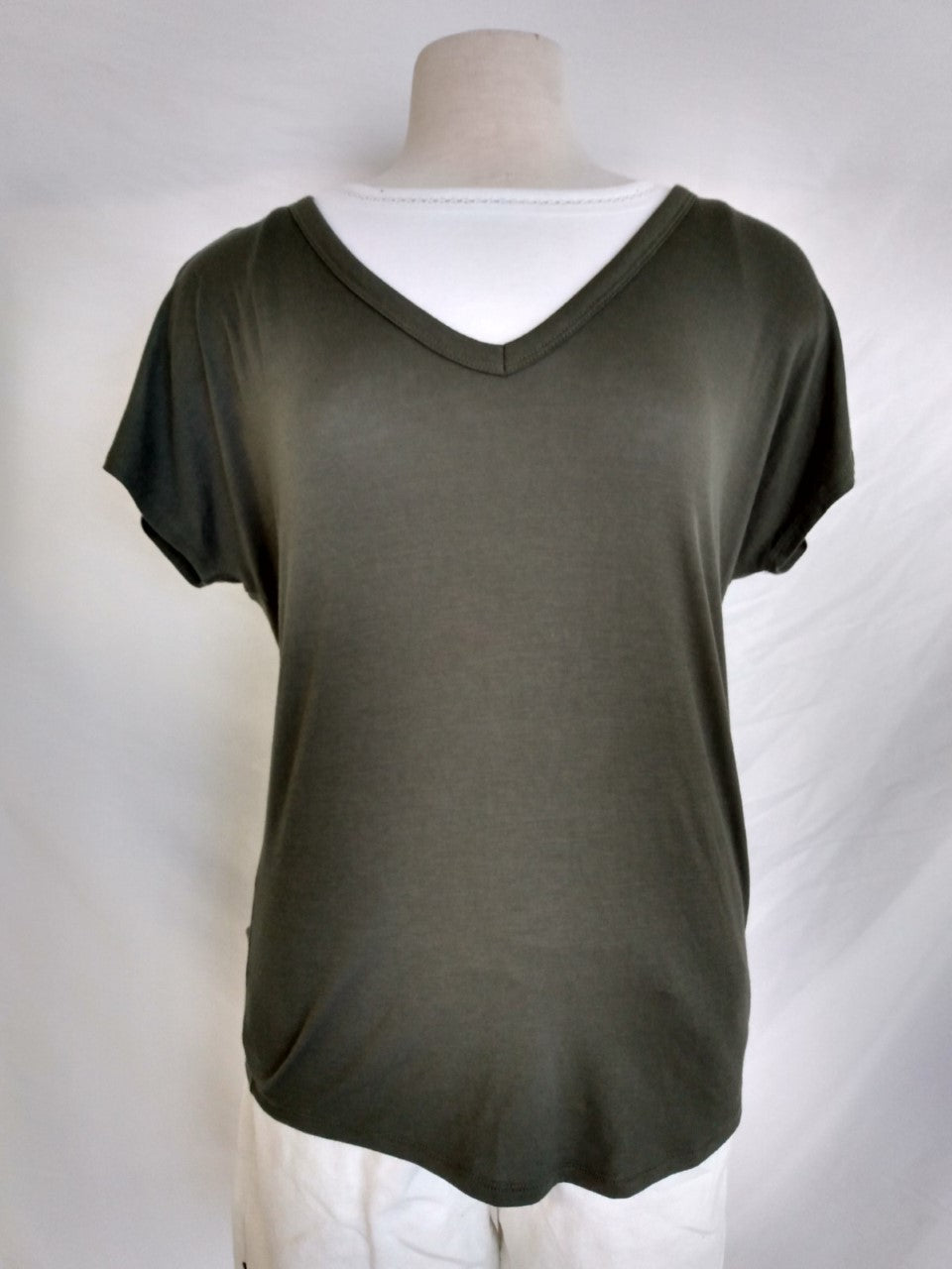 Express Short-sleeve Knit Top- Size: XS- NEW