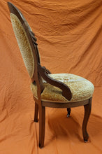 Load image into Gallery viewer, Mahogany Antique Victorian Ladies Parlor Chair