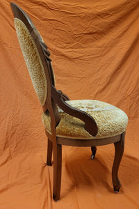 Mahogany Antique Victorian Ladies Parlor Chair