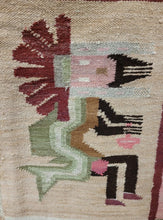 Load image into Gallery viewer, Handwoven Indigenous Wool Rug