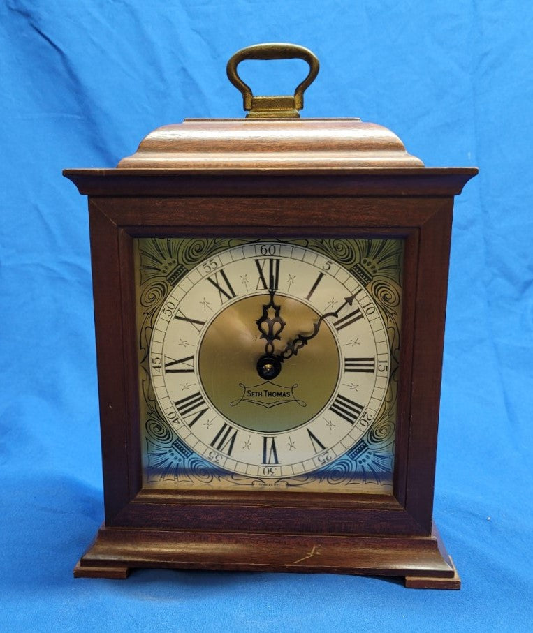 Vintage Seth Thomas Wind-up Mantle Clock
