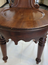Load image into Gallery viewer, Walnut Vanity Stool